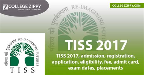 Tiss Mba 2017 by Tiss 2017 Admission Registration Application