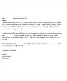 Resignation Letter To Colleagues by How To Write A Farewell Letter To Coworkers