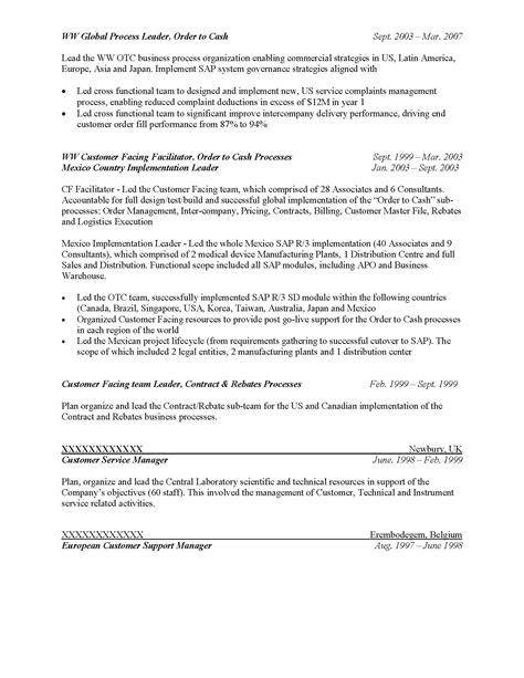executive resume sles resume prime