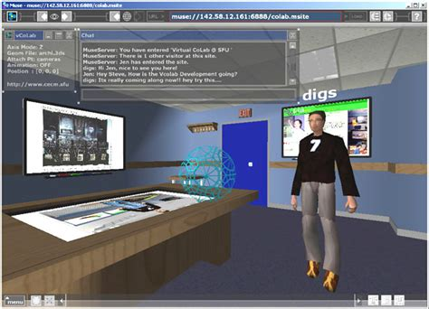 design interactive environment ivizlab researching socially based 3d visualization