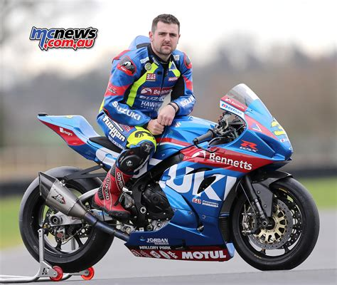 Michael Suzuki Michael Dunlop To Race Gsx R1000r At Tt And Nw200 Mcnews