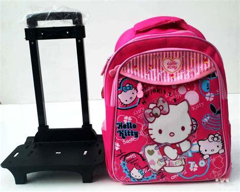 Tas Ransel Hk Tas Sekolah Hk detail tas ransel trolly lepas hk pink toko bunda