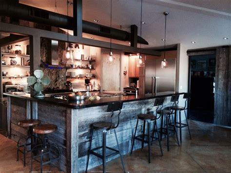 industrial chic decor our kitchen modern industrial chic decor pinterest