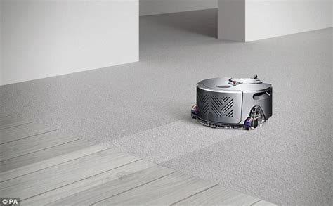 House Charging Station by Dyson 360 Eye Smart Robot Vacuum Has Live Cameras To Map