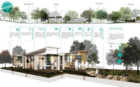 Landscape Architecture Graphics Section Perspective Graphic Architecture Landscape