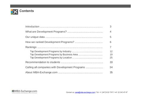 Companies That The Best Mba Development Programs by Development Programs Gaining Momentum Among Mba Students