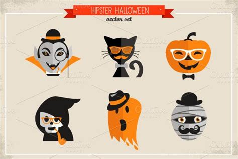 imagenes hipster halloween ilustraci 243 n hipster cu 225 nto hipster