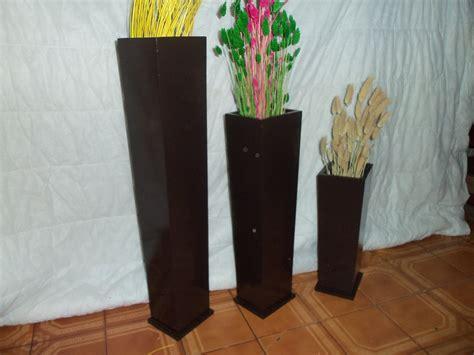 floreros rusticos de madera jarron decoracion jarrn de porcelana forrado en mimbre