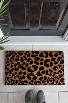 Leopard Doormat by Door Mats Funky Doormats Front Door Mats Next
