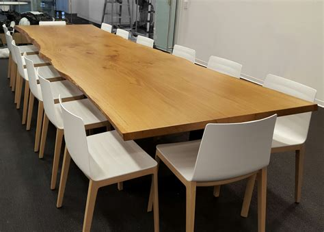 live edge conference table toyota conference table resawn timber co