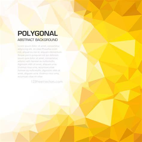 graphics design background yellow yellow orange geometric polygon background image
