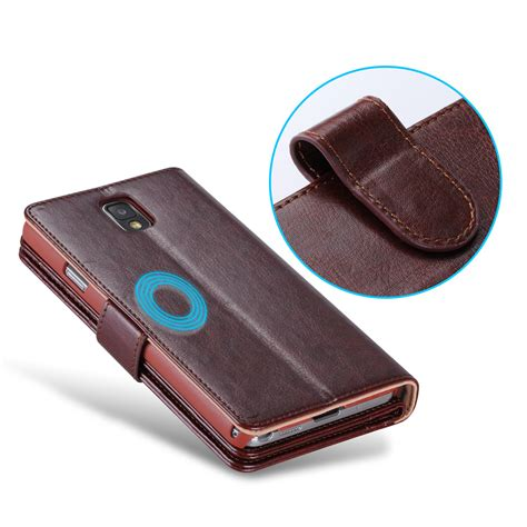 Samsung Note 3 Flip Wallet Leather Casing Cover Dompet Kulit Kuat note 3 multi function wallet for samsung galaxy note 3 pu leather for galaxy note 3