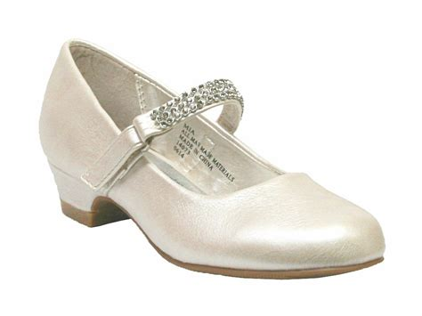 dress shoes ivory low heel dress shoe w rhinestone
