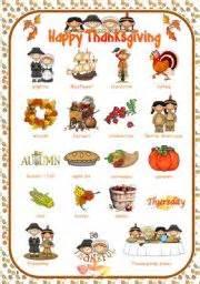 thanksgiving charades english teaching worksheets thanksgiving pictionary