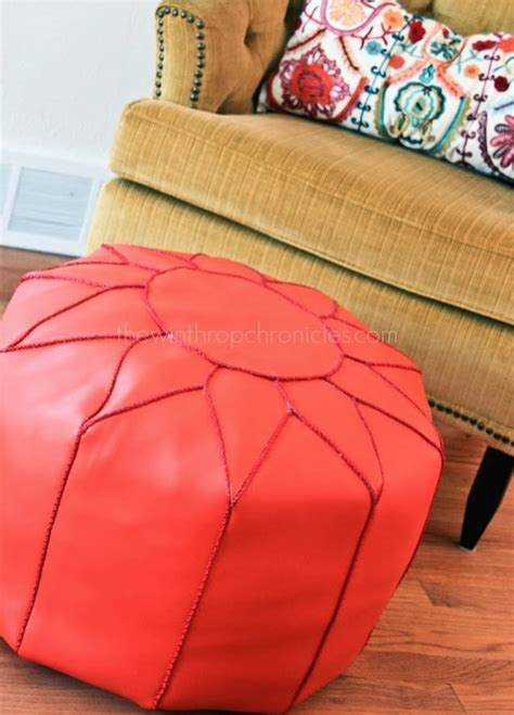 ottoman pouf diy 25 best ideas about moroccan pouf on pinterest moroccan