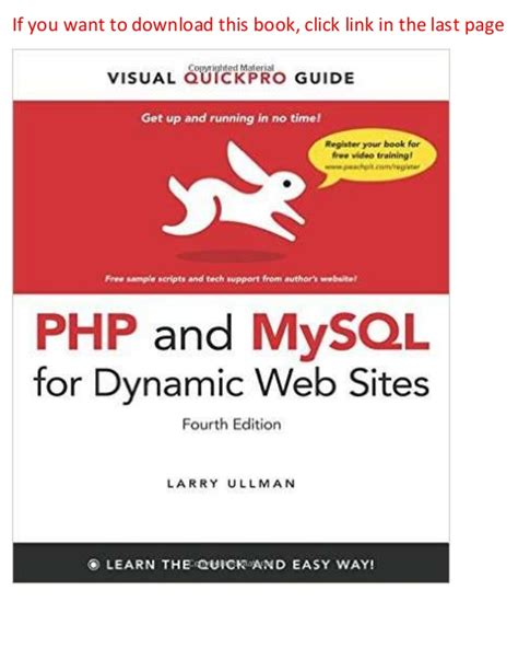 professional php building maintainable and secure applications books php and my sql for dynamic web visual quickpro guide