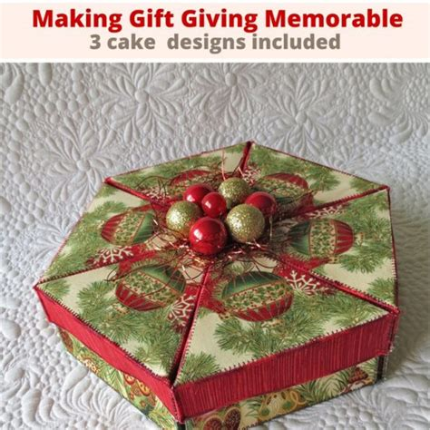 fabric gift boxes pattern making gift giving memorable