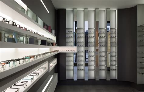 optical shop design layout project opt on pinterest eyewear concrete walls and