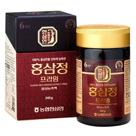 Korean Ginseng Extract hansamin korean ginseng extract prime 240g 6year best hongsam