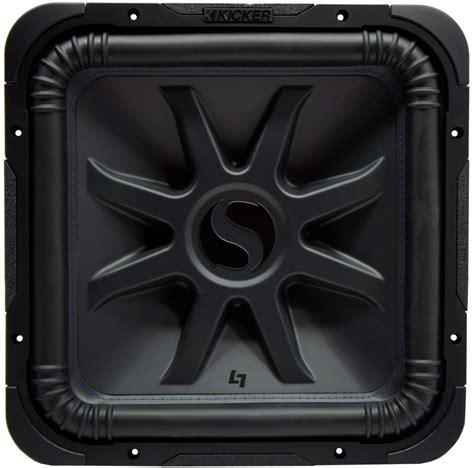 kicker l7s15 car audio 15 quot l7 square sub 44l7s154