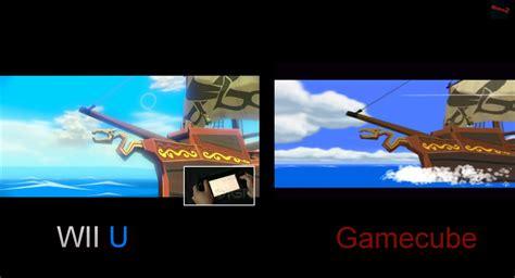 wii vs gc graphics the graphical comparison wind waker hd vs the original