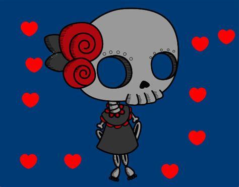 imagenes de calaveras de amor calavera enamorada imagui