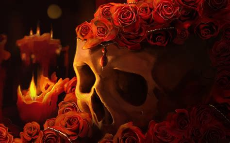fire skull wallpapers wallpapertag