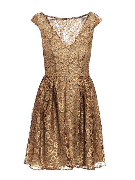 Gold Dress For issa gold lace dress wedding