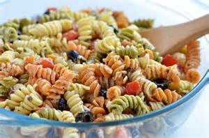 tri color pasta salad with italian dressing tri color pasta salad