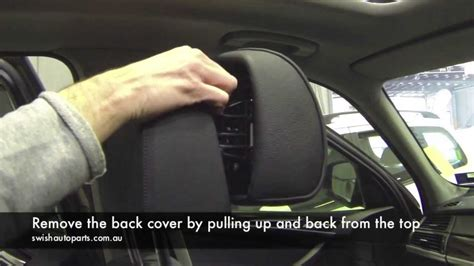 2008 hyundai elantra headrest removal how to repair bmw active headrest youtube