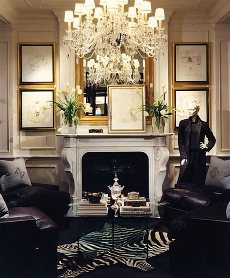 glamorous homes interiors stylish home ralph lauren home one fifth collection