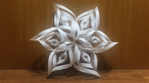 snowflake origami easy origami snowflake tutorial how to fold an easy snowflake