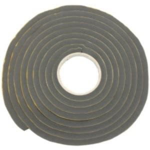 Seal 10m window seal 12mm x 12mm x 10m black