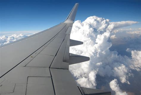 Plane Wings the science why airplane wings wobble in turbulence
