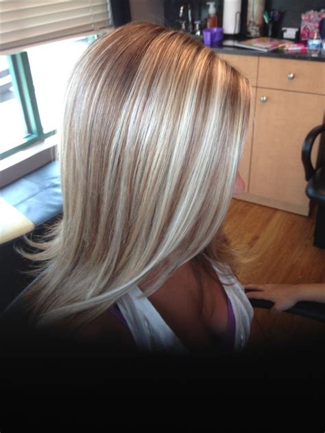 how to put in low lights trendy hair highlights blonde highlights and low lights