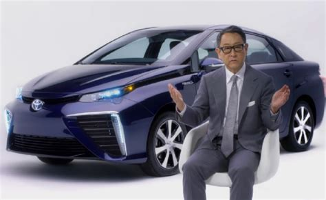 toyoda car toyota chief heading up new electric car division
