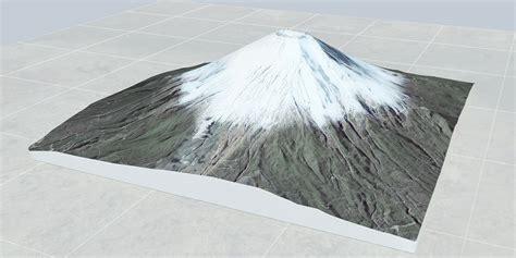 Mt Modelisme 3d model mount fuji