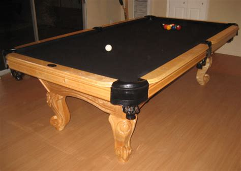 Black Felt Pool Table by So Cal Pool Tables Waverly Pool Table