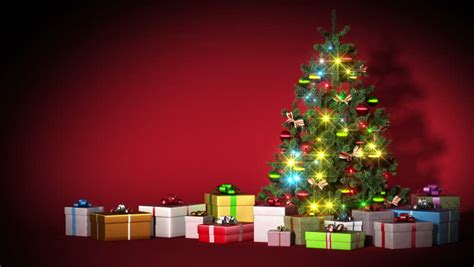 beautiful christmas tree  gifts stock footage video  royalty   shutterstock