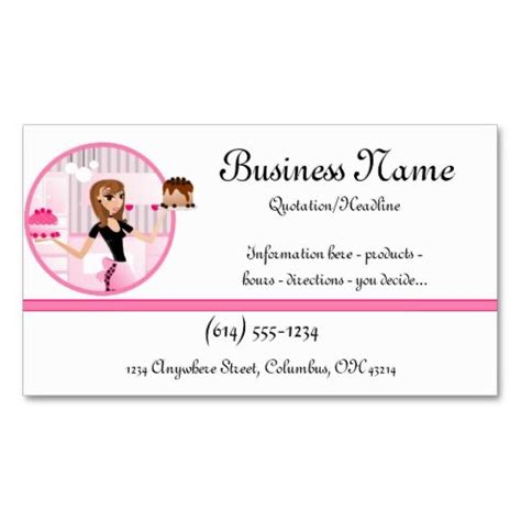 pered chef business cards template 442 best images about bakery business cards on