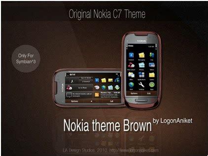themes download for nokia c7 alltricks tips nokia c7 original brown theme for