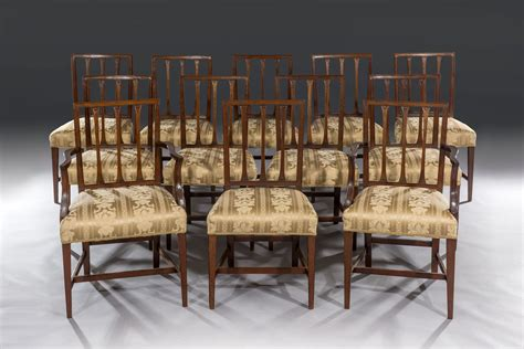 Period Dining Chairs Set Of Twelve 18th Century George Iii Period Mahogany Dining Chairs 10 2 By Gillows Of