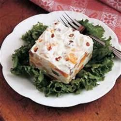 frozen fruit and nut salad recipe taste of home