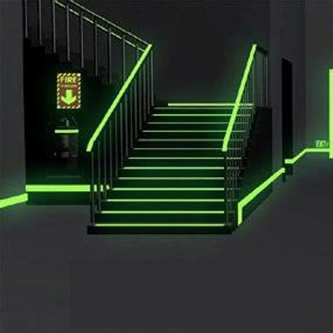 glow in the paint safety glow in the material for illuminated exit signs self