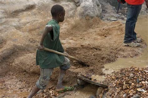 digging for gold children work in harsh conditions paid the nonprofit press dodd frank and the spine africa project