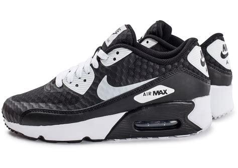 nike air max 90 ultra 2 0 br junior et blanche chaussures enfant chausport