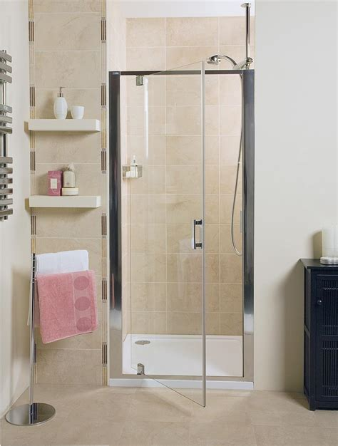embrace pivot door shower enclosure showers