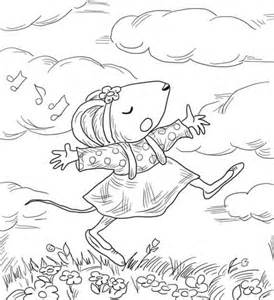 Chrysanthemum Penny And Her Song Coloring Page Chrysanthemum Coloring Pages