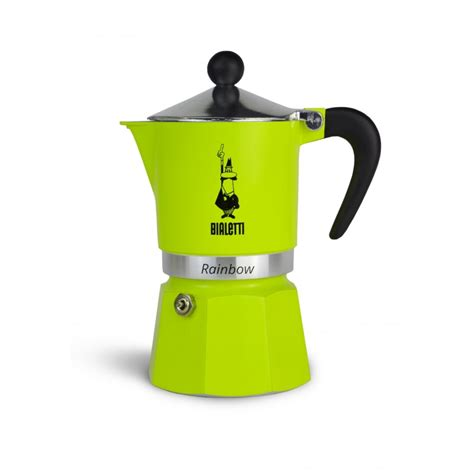 Bialetti Rainbow Green 1 Cup bialetti rainbow green 3 cup
