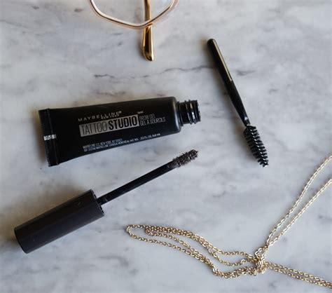tattoo brow maybelline review maybelline tattoo studio brow gel review demo